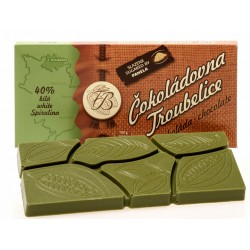 45g White chocolate 40%...