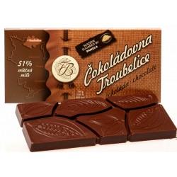 45g Čokoláda mliečna 51%