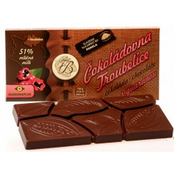 45g Milk chocolate 51% with...