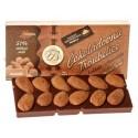 Čokoládové koliesko biele so spirulinou 40%