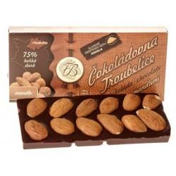 55g Dark chocolate 75% with...