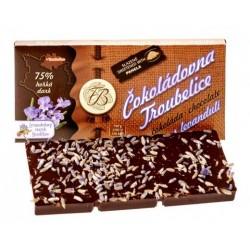 45g Dark chocolate 75% with...