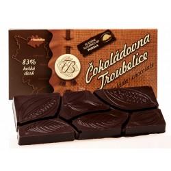 45g Čokoláda horká 83%