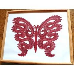 Červený motýľ