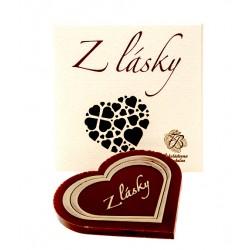 18g Dark Chocolate Heart