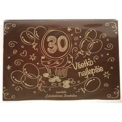 240g Narodeninová čokoláda