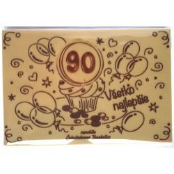 300g Narodeninová čokoláda