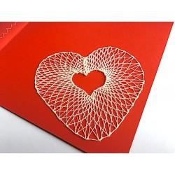 Heart greeting card No.1