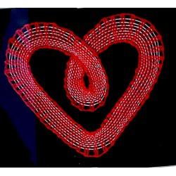 Srdiečko červené