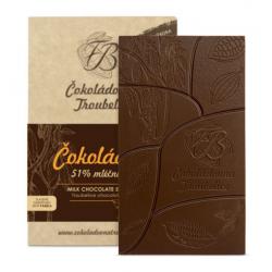 Čokoláda mliečna 51% s...