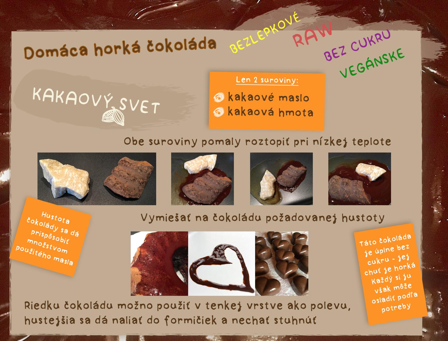 Domáca horká čokoláda