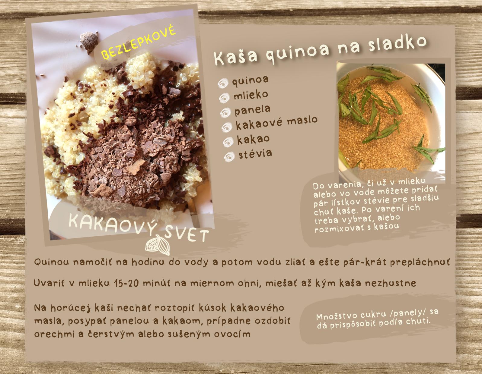 Quinoa Kaša