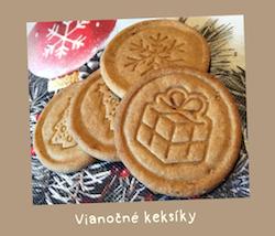 Vianočné keksíky