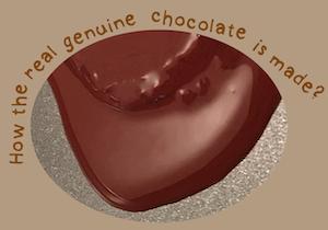 Real genuine chocolate